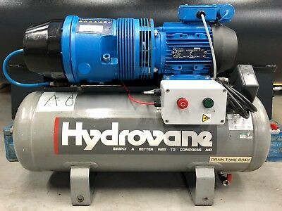 Hydrovane HV01 Receiver Mounted Rotary Vane Compressor, 1.1Kw, 230v! Great Order