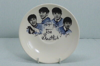 The Beatles Official Washington Hanely Pottery England Saucer (No Cup)