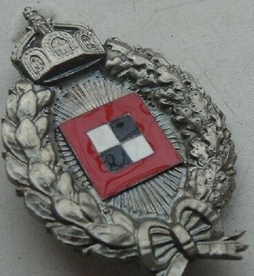 Wwi Imperial German Flying Corps Pilot Observer Insignia With Makers Marks