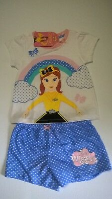 Wiggles / Emma / Summer P.J. Set / Girls / Sizes 2, 3, 4 And 5.