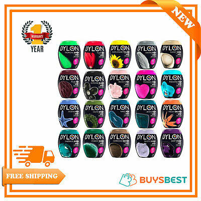 Dylon Machine Dye Pods 350g - Full Range of Colours Available! - Easy To Use