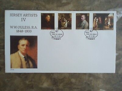Jersey 1983 Anniversary of Walter Ouless, First Day Cover