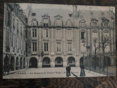 carte postales ancienne CPA Paris la maison de Victor Hugo