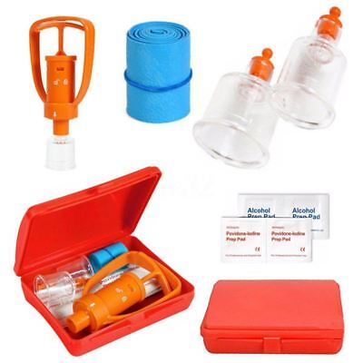 Venom Extractor Pump First Aid Safety Kit Emergency Snake Bite Outdoor Camp K2D8