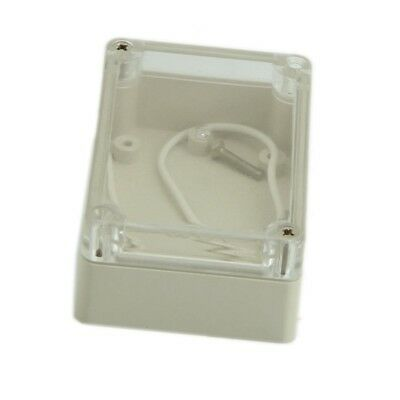 85x58x33mm Waterproof Clear Cover Plastic Electronic Cable Project Box Encl H1E8
