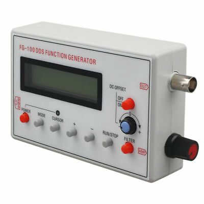 FG-100 DDS Function Signal Generator Frequency Counter 1Hz - 500KHz G2M9