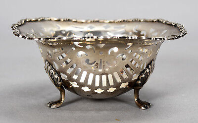 Old Gorham Roger Williams Small Sterling Reticulated Basket Bowl 488 - 2.5 OZT
