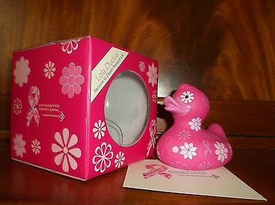BUD Collectable Rubber Duck for Cancer Research LOLA DUCKIE (2009) -discontinued