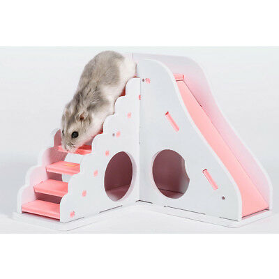 Small Animal Hamster Mouse Gerbil House Nest Slide Toy Pet Supplies