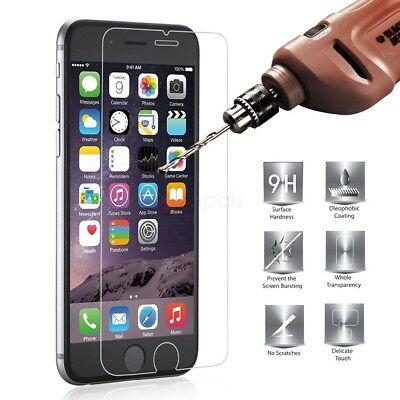 For iPhone 7 Screen Protector Tempered Glass 3D 100% Genuine Film Guard Ultra HD