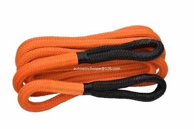 1inch*30ft Kinetic Recovery Rope,Bubba Rope,Double braied Nylon Energy Rope,Towi