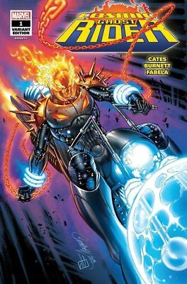 Cosmic Ghost Rider 1 SDCC J Scott Campbell Glow Variant Limited to 1000 Pre-Sale