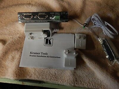 KRAMER VP-211K 2x1 Computer Graphics Video & Stereo Audio Standby Switcher - NEW