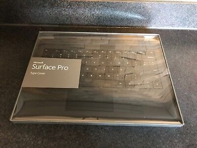 Microsoft Surface Pro 3 Type Cover Keyboard Model 1644 Brand New Black RF2-00001