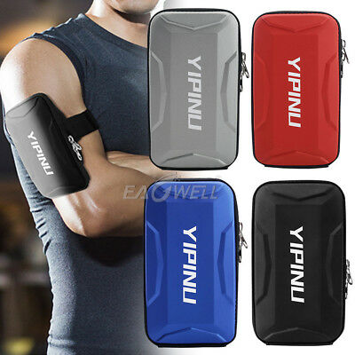 For Samsung Galaxy Note 9 / 8 S8 S9 Plus Sports Jogging Arm Band Case Holder Bag