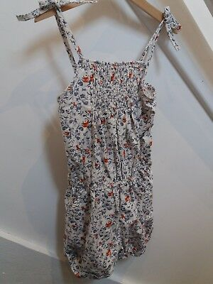 Next girls floral playsuit / shortsuit age 9 years