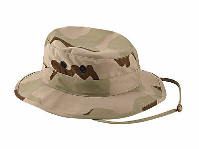 NEW USGI 3  Tri  Color Desert BOONIE HAT     X large