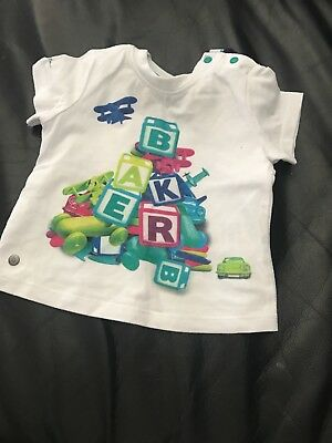 ted baker baby t shirt worn once 3-6 months