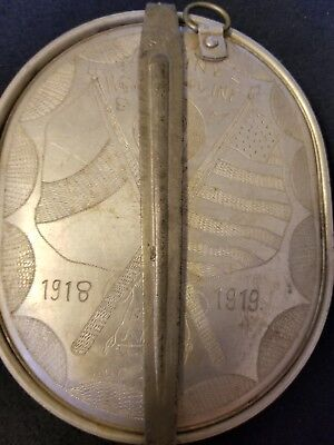 WW1 VIVINTAGE MESS KIT 1918 with utensils and engraving
