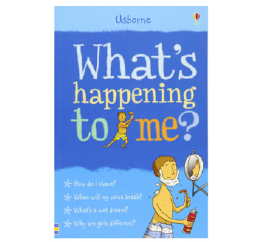 Male Puberty Book For Boys Growing up Guide What's Happening to Me? Paperback