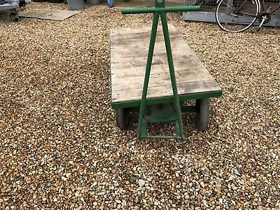 Wooden Pull Trolley