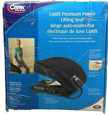 Carex Premium 17 Inch Power Lifting Electric Level Lift Seat, Up to 300 lbs