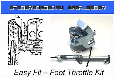Fordson Major Tractor Foot Throttle Kit ** Uk Made ** Super * Diesel * Power **