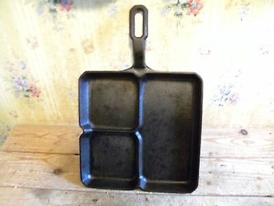 Old Griswold Colonial Breakfast Skillet Pat# 666