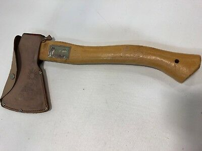 Majestic Tomahawk Axe Hatchet w/ Leather Sheath Camping Survival Tool