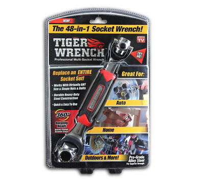 DMC TIGER WRENCH chiave a bussola 48 in 1 vista in TV