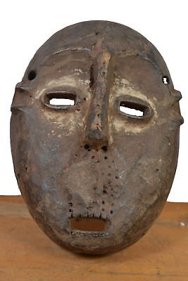 African Tribal Art,antique African Lega  Mask from Democratic Republic of Congo