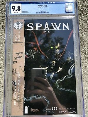 Spawn #166 Variant CGC 9.8 - Only 5 on census! Ultra Rare Image Comic 1