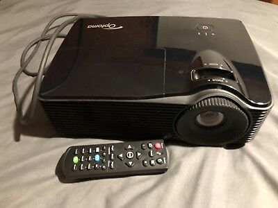 Optoma HD 3D 1080 HDMI Projector Missing Bulb