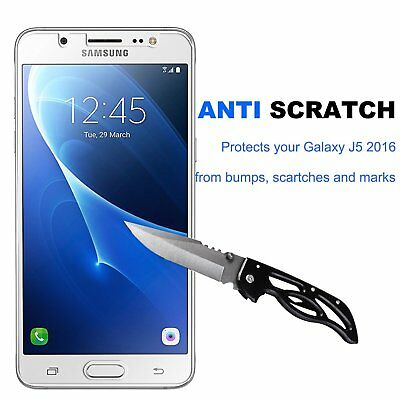 For Samsung Galaxy J5 2016 Screen Protector Tempered Glass 3D Film Guard Full HD