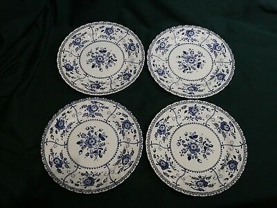 JOHNSON BROTHERS INDIES DESERT PLATES x 4 -  EXCELLENT CONDITION