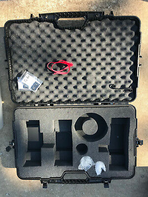 Case for White Lightning strobes and replacement bulbs
