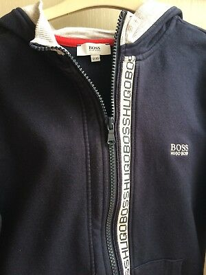 Boys hugo Boss Hoody Age 12 xs