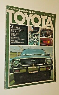Petersens Complete Book Of Toyota 1975