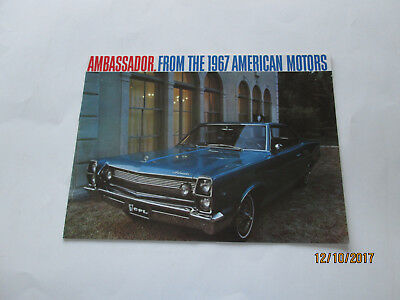 Ambassador. From The 1967 American Motors brochure