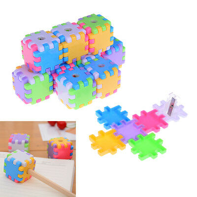 detachable building blocks pencil sharpener cutter knife student supplies YEG