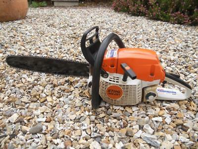 """stihl ms261 chainsaw GOOD USED CONDITION 18"""" bar new chain LOOK!!! NICE SAW!!"""