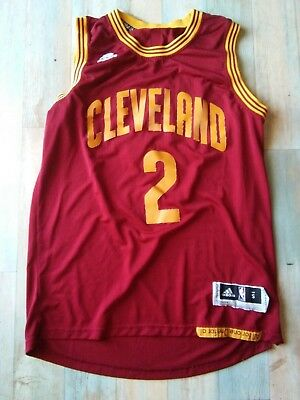 Maillot BASKET BALL ADIDAS CLEVELAND NBA N°2 IRVING TAILLE/S/D3 TRES BON ETAT