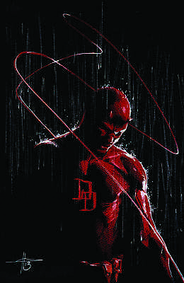 Daredevil Virgin Variant issue #1 / Limited to 600 Hand Selected Copies