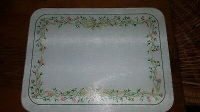 Johnson Brothers / Clover Leaf Eternal Beau Glass Chopping Board