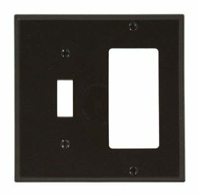 Leviton 80707 Decora/GFCI Device Combination Wallplate