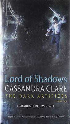 Lord of Shadows The Dark Artifices by Cassandra Clare Hardcover Book Two English
