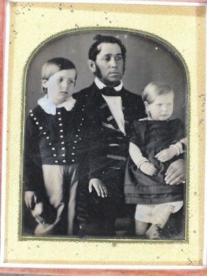 1/4 Plate Daguerreotype / Possible Mourning Image