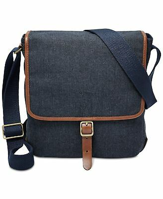 3423c5dbe FOSSIL BUCKNER NS City Crossbody Messenger Bags for Men - Navy New W/Tag -  $112.00 | PicClick