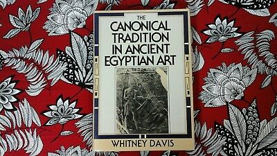 The Canonical Tradition In Ancient Egyptian Art - 1989 - Hardbound / Dj