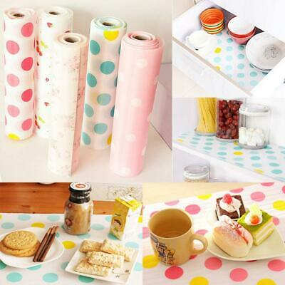 2 Roll Kitchen Table Liner Pad Anti-bacterial Drawer Cabinet Table Placemat Mat